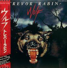 TREVOR RABIN / WOLF LP w/OBI Insert YES Orig JAPAN ISSUE