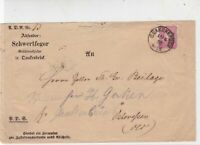 Germany 1883 Stamps Cover to Essen Oldenburg Quakenbruck Cancel Ref 23241