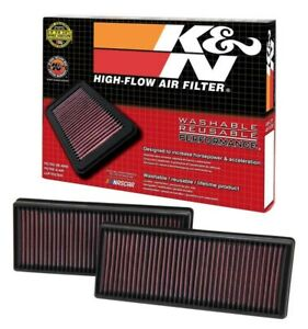 Fits Mercedes SL63 2009-2012 K/&N Performance High Flow Replacement Air Filter