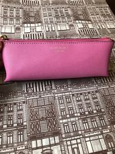 Henri Bendel WEST 57TH Small COSMETIC CASE NWT Bodacious Purple Pencil Case