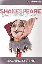 TEACHING SYSTEMS SHAKESPEARE MODULE 10 - THE CHARACTERS OF MACBETH NEW DVD