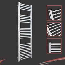400mm(w) x 1400mm(h) Straight Chrome Heated Towel Rail 1926 BTUs Radiator Warmer