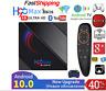 H96 Max Android 10.0 Smart Tv Box 4GB 64GB 6K HD WiFi Media Player Set Top Box