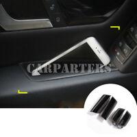 For Benz C Class W204 Interior Side Door Storage Box Holder 4pcs 2007-2013