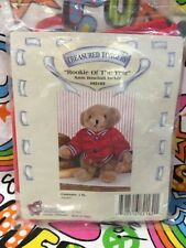 Treasured Toggery Rookie Of the Year Red Sport Jacket Fits Bitty Baby or Bear