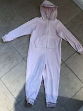 Girls Super Soft Pink One Piece Age 6yrs In Excellent Condition