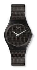 Swatch Noirette L Uhr GB313A Analog  Edelstahl Schwarz