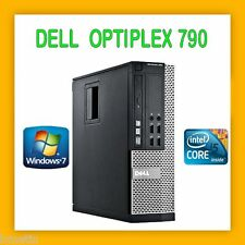 DELL OPTIPLEX 790 INTEL CORE i5 3.1GHZ 4GB 250GB DVDRW WINDOWS 7 PRO OFFICE AVIR