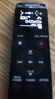 Sony ICDUX560BLK Stereo Digital Voice Recorder with Built-in USB 4GB READ DETAIL