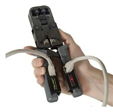 Cable tester Stripper Cutter and Crimping Tool in One - Network Wire Test Hobbes