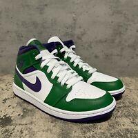 Nike Air Jordan 1 Mid Incredible Hulk Men's Size 7.5 / Women's 9 [554724-300]