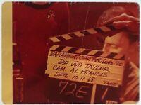 Star Trek TOS 35mm Film Clip Slide Last Battlefield Clapper Board Bele 3.15.13