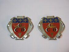 GCB Crest Metal Emblems Vintage CGB  T*