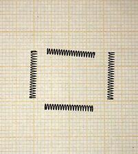4 x Druckfeder, mini, Länge 13,5mm, Außen Ø1,8mm, Drahtstärke 0,2mm