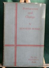 Permanence and Change by Kenneth Burke, 1935