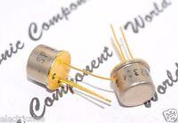4pcs - 2N2324 Gold-Pin Transistor - Genuine NOS
