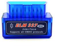 Super Mini ELM327 OBD2 II Auto Car Bluetooth Diagnostic Interface Scanner Tool