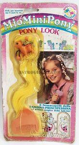 MY LITTLE PONY LOOK FERMACAPELLI HASBRO 1987 MIO MINI MON PETIT PONEY GIOCADAG