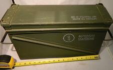 U.S. mil. issue, steel ammo can storage box  18 x 10 x 6 PA120  40MM     M017
