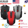 6D 2.4GHz 2400 DPI Wireless Gaming Mouse Optical USB Receiver for PC Laptop Mac