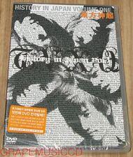 TVXQ DONG BANG SHIN KI TOHOSHINKI History In Japan Vol.1 DVD SEALED