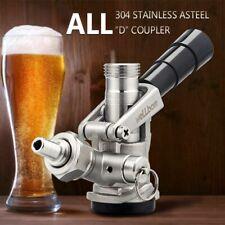 D System Keg Coupler All Stainless Steel Construction American Sankey Keg Draft