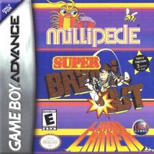 Super Breakout / Lunar Lander / Millipede Gba New Game Boy Advance