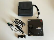 Vintage Sony D-99 Discman - CD Walkman + Headphones MDR-A21 Tested Mint Cond.
