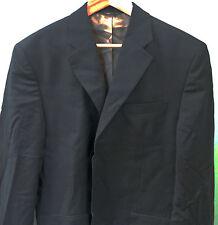 Banana Republic Men's Navy Blue Pinstripe Wool 3-Button Blazer Sportcoat Sz.42R