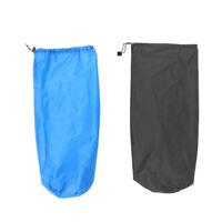 2pcs Set Lightweight Durable Drawstring Stuff Sack Sleeping Pad Blanket Bag