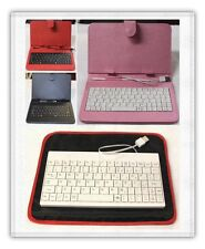 Tablet Case Sleeve / Pouch / Cover + USB Key Board Multiple Choices