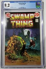 Swamp Thing #4 CGC 9.2 Wrightson  White Pages!