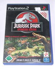 """PS 2 Playstation 2 Spiel """" JURASSIC PARK OPERATION GENESIS """""""