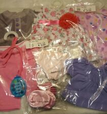 """New 18"""" Doll Clothing  in Original Bags Lot #24(A) fits 18"""" Play Dolls"""