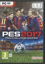 Pro Evolution Soccer 2017 multil. (PC, 2016, DVD-Box) ohne Anleit. MIT Steam Key