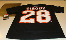 Philadelphia Flyers Claude Giroux S Reebok Name Number Logo T Shirt Hockey NHL