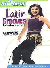 Latin Grooves: Latin Dance Workout (DVD) SHIPS NEXT DAY Gloria Araya-Quinlan