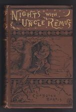 Joel Chandler Harris, NIGHTS WITH UNCLE REMUS, First edition