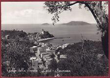 LA SPEZIA LERICI 32 Cartolina FOTOGRAFICA viaggiata 1959