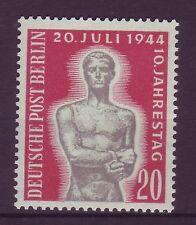 Berlin 1954 postfrisch MiNr. 119  10. Jahrestag des Attentat vom 20. Juli 44