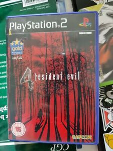 Capcom Resident Evil 4 Video Game - Limited Edition (Sony PlayStation 2, 2005)
