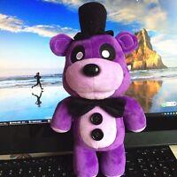 """12"""" Five Nights At Freddy's Fazbear Freddy Purple Plush Toys Funko FNAF Purple"""