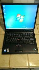 IBM Thinkpad T42 Intel Pentium M 1.70GHz 40GB HDD 1GB RAM Win7Pro DVD/CD-RW Wifi