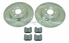 MERCEDES ML270 CDi ML350 (W163) REAR 2 BRAKE DISCS AND PADS CHECK SIZE AS CHOICE