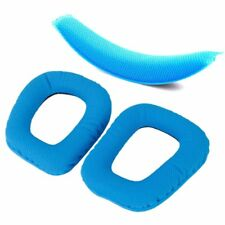 Blue Replacement Cushion Pad Headband Pads Earpad for Logitech G430 G930 M4 N4F2