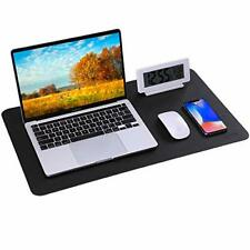 Herlich Desk Mat Large Mouse Pad Multifunctional Office Desk Pad Dual Use Pu