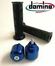 Manopole + Contrappesi BLU HONDA CBR 400 RR CBR 500 R CBR 600 F / Sport