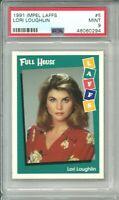 Lori Loughlin 1991 Full House Laffs RC Card PSA 9 POP 2 (NO PSA 10's!) HOT
