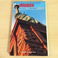 The Absolute Sound Issue Volume 12 Number 48, 1987 TAS Audio Research Cello Tube