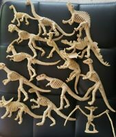 14 pcs Lot Unique Dinosaur Fossils Skeleton Figures Jurassic Park Dino Toy Model